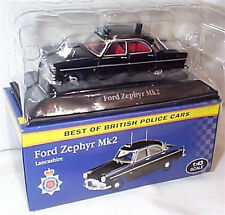 Ford Zephyr Mk2 Lancashire 1-43 Scale New in box best of british police cars