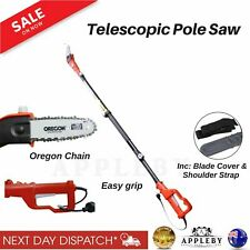Pole Chain Saw Electric Extendable Chainsaw Pruner Tree Brush Cutter Trimmer New