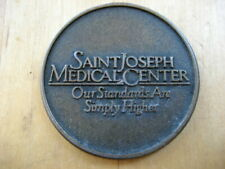 Vintage St. Joseph's  Hospital And Medical Center Serenity Prayer Coin Free Ship