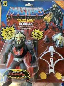 Mattel Masters of The Universe Buzz Saw Hordak Action Figure Set