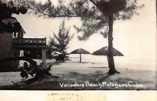 Navy Exchange Real Photo Postcard Varadero Beach in Matanzas, Cuba~114476