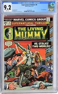 S253. SUPERNATURAL THRILLERS #8 Marvel CGC 9.2 NM- (1974) 1st App THE ELEMENTALS