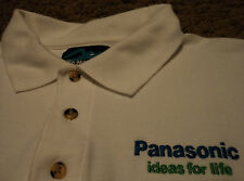 Men's PANASONIC IDEAS FOR LIFE Electronics Polo Rugby Golf Shirt Small