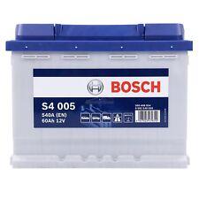 BOSCH S4 005 60Ah 540A 12V AUTOBATTERIE STARTERBATTERIE PKW-BATTERIE 31832869