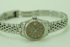 Rolex Oysterband Perpetual Lady Date Ref.6917 Stahl 26mm vom 1974 Gewährleistung