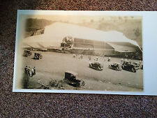 """1925 Black and White Reprint of An Original Wreck of The USS Shenandoah 24 X 30"""""""