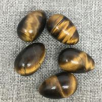 1PCS-100%Natural Rare Tiger Eye Stone Quartz Crystal Dragon Egg Reiki Healing
