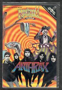 Anthrax & Faith No More 1991 R&R Revolutionary Comics #24 Sealed 1st Edition