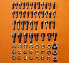 Vis Du Carburateur V2A Honda CB 650 750 Sc en Acier Inoxydable Ensemble Neuf