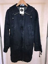 La Redoute Womens Heavy Denim Coat Size UK 10 / US 8