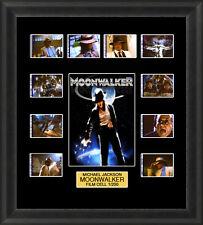 Michael Jackson Moonwalker 1988 Framed 35mm Film Cell Memorabilia Filmcells