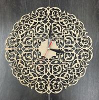 Contemporary Modern Unique Wooden Wall Clock Wall Art Silent Wall Clock CL-0013.