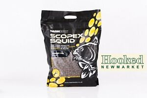 Nash Bait Scopex Squid Stabilised Boilies 5kg *FREE 24 HOUR DELIVERY*