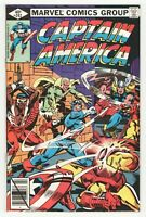 Captain America #242 (Marvel 1980) Avengers - Al Milgrom Cover - Don Perlin Art