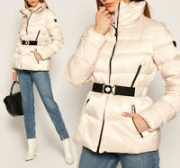 Women's EA7 Emporio Armani bomber Jacket Puffer Quilted Winter Warm Padded Desig