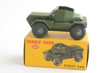 Dinky Toys No 673 Scout Car - Meccano Ltd - Made In England - Boxed