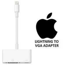 Lightning to VGA Adapter Cable For Apple iPhone 6 6s 7 8 Plus X XS Max iPad iPod