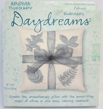 New Daydreams Counted Cross Stitch Embroidery Kit Citrus Aromatherapy Pillow