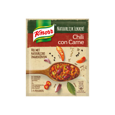 No additives Chili con Carne spice mix   Knorr   12 Varieties