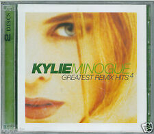 KYLIE MINOGUE - GREATEST REMIX HITS 4 AUSTRALIAN DOUBLE CD MUSHROOM MUSH33104.2
