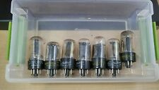 6AX4GT VACUUM TUBES -VARIOUS BRANDS  ALL TESTED
