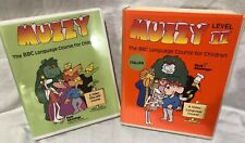 Muzzy Bbc Italian Level 1 & 2 Language Course for Children Vhs Cassette Tapes #
