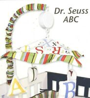 Trend Lab Dr. Seuss ABC Musical Mobile for Baby Crib-Wind to play Brahms Lullaby