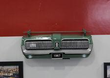 1967 Mercury Cougar XR7 Painted Green Resin Wall Decor w/ Glass Shelf: 7580-135