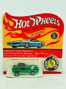 Hot Wheels Redline PYTHON Green HK Dark Int Blisterpack BP Carded WOW !!!!
