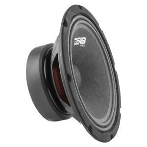 """Car Midrange Speaker 8"""" Inch 580w Watt 8Ohm Bass Loudspeaker DS18 PRO-GM8"""