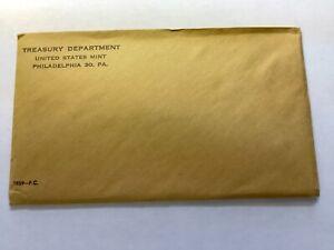 1959 Proof Set in a Flat Pack Envelope - Sealed Original
