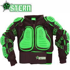 enfants Stern motocross protection renforcée CORPS VERT Bionique veston