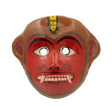 MASQUE NEPALAIS SINGE HANUMAN INDRA JATRA FESTIVAL NEPAL PAPIER MACHE MASK 6783