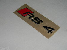 NEW GENUINE AUDI RS4 CABRIOLET SALOON WING BADGE INSCRIPTION RS4 8E0853601