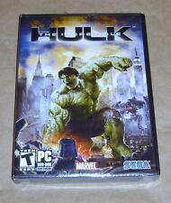 Incredible Hulk  , SEGA   NEW SEALED ( PC,  2008 )