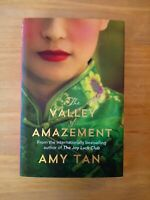 SIGNED 1ST / 1ST EDITION of THE VALLEY OF AMAZEMENT by AMY TAN. FIRST PRINTING.