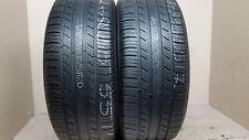 2 Tires 235 55 17 Michelin Premier AS (5.50-6.20/32 = 65-72% Tread)