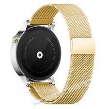 bff91054edc3 Milanese Stainless Steel Watch Band For Samsung Galaxy Watch   Huawei    Garmin