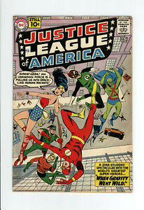 JUSTICE LEAGUE OF AMERICA #5 FN+ 6.5 - ORIGIN & 1st DR. DESTINY - 1961