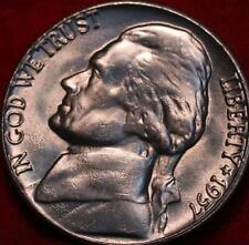 Uncirculated 1957-D Denver Mint Jefferson Nickel