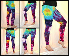 Tie Dye Psychedelic Handmade Leggings GALAXY custom design FREESIZE