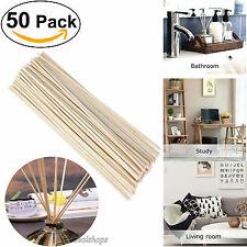 50pcs Replacement Rattan Reeds Home Fragrance Diffuser Oil Refill Sticks