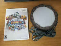 Nintendo Wii Skylanders Giants Game And Portal Of Power No Manual