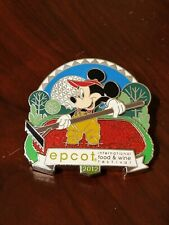 Epcot International Food and Wine Festival 2012 Mickey Mouse Disney Pin 92629 Le