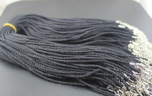 100pcs Bulk Lots New Fashion Line String Cord Rope For Necklace Pendant AH1080