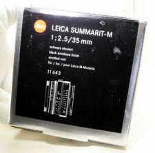 Scatola Vuota per Leica 11 643 Obiettivo SUMMARIT-M 35mm F 2.5 con in Spugna