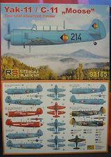 Jak-11 Moose (Yak-11), 1:72, Plastic Kit, RS Models, New, NVA , Austria