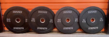 120kg of Hammer Strength Bumper Plates. For Olympic Bar - Gym / Commercial