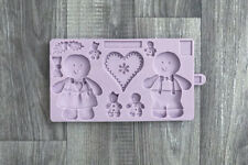 Karen Davies Sugarcraft Gingerbread Cookie Mould For Christmas Cakes and Cookies