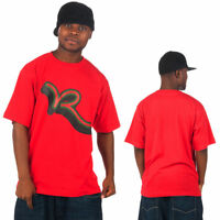 Rocawear, Men's Designer Tee Shirts, Hip Hop Star, Money Time Is, Truly Urs Red